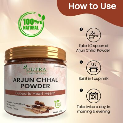 Arjun Chhal Powder Benefits