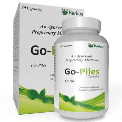 GO-Piles Herbal Capsule