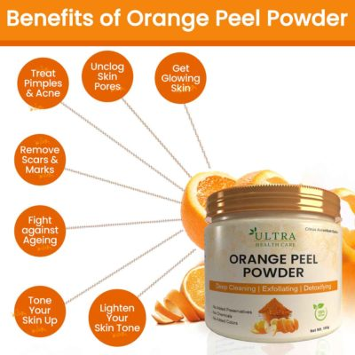 Benefits of Orange Peel Powder