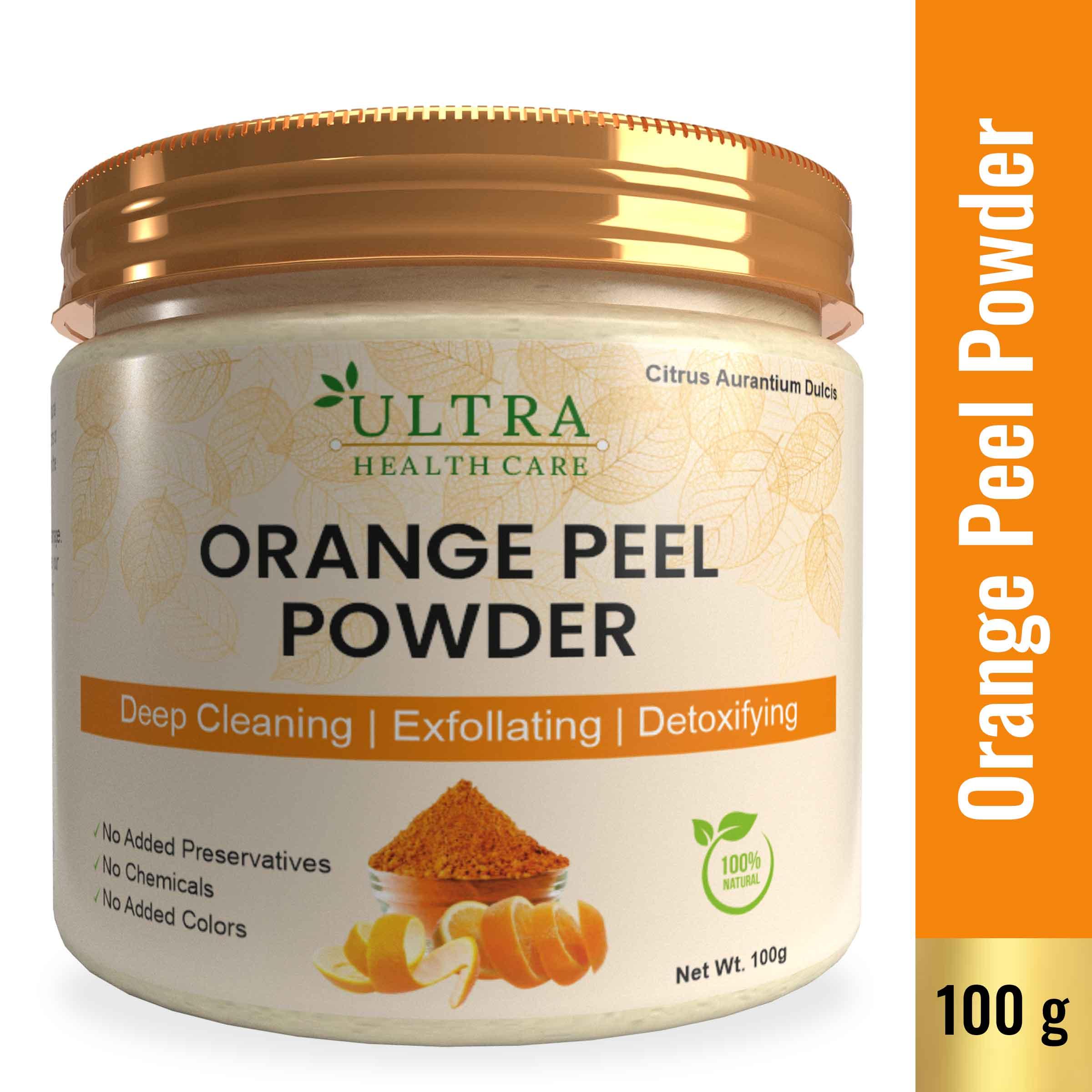Orange Peel Powder Face Pack