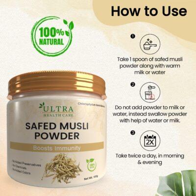 Uses of Safed Musli