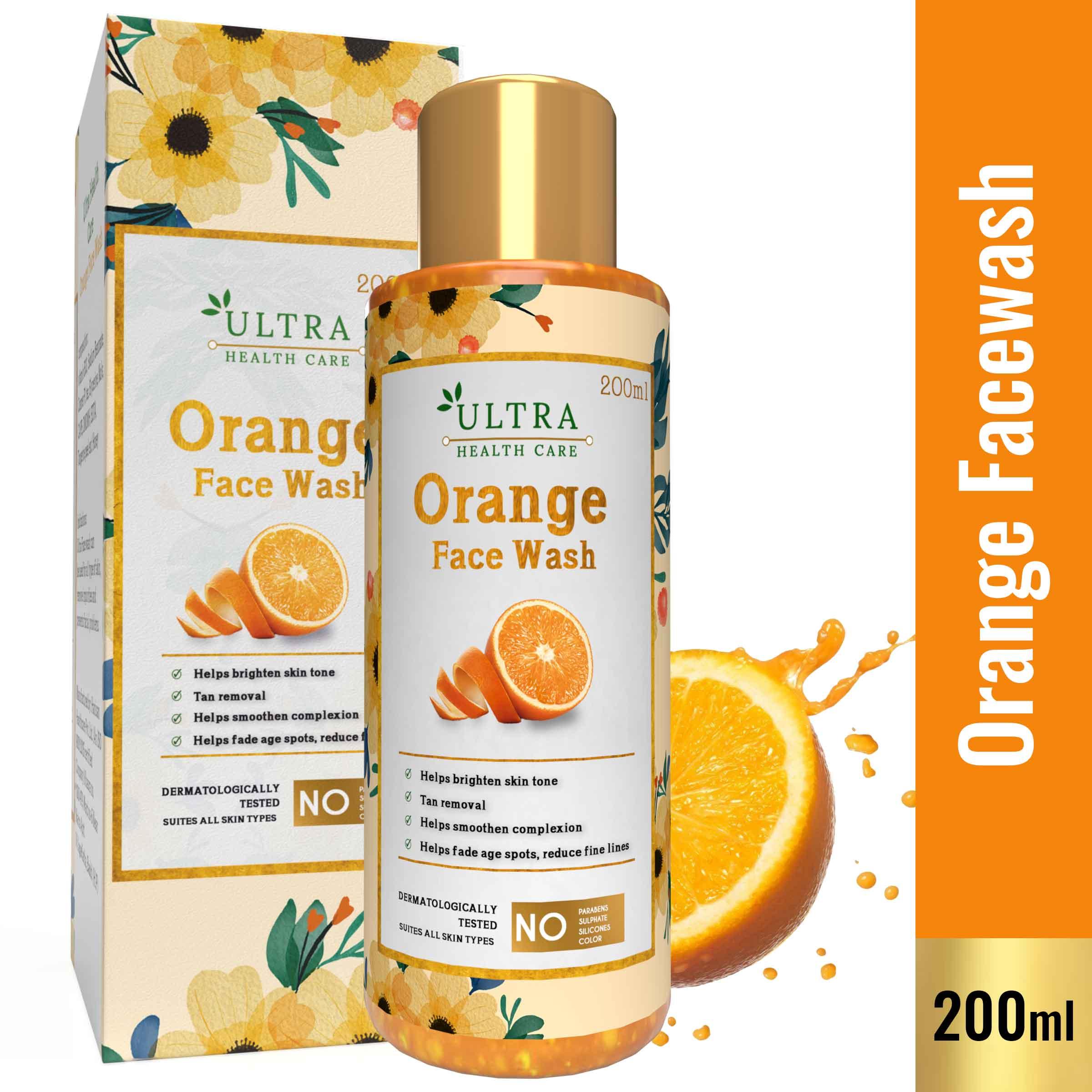 Orange Facewash Gel
